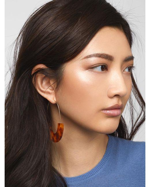 BaubleBar - Purple Faidra Resin Drop Earrings - Lyst