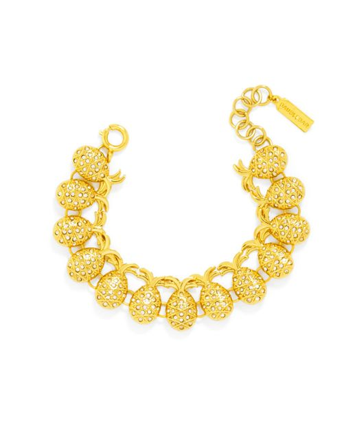 BaubleBar - Yellow Pineapple Bracelet - Lyst