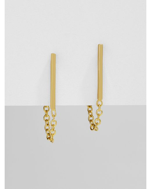 BaubleBar - Multicolor Corazon 18k Gold Plated Earrings - Lyst