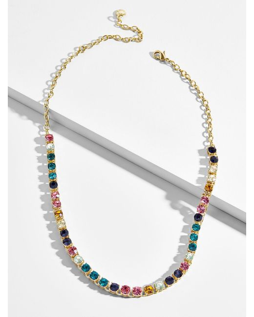 BaubleBar - Multicolor Nova Tennis Necklace - Lyst