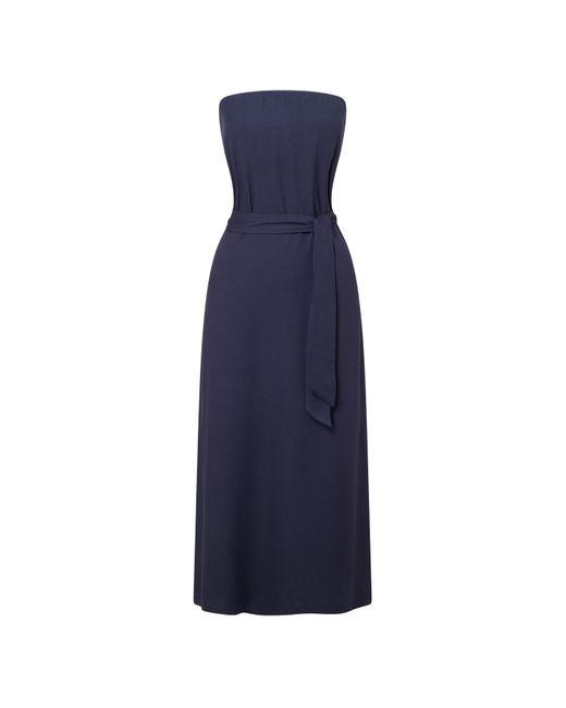 Baukjen - Blue Carin Bandeau Dress - Lyst