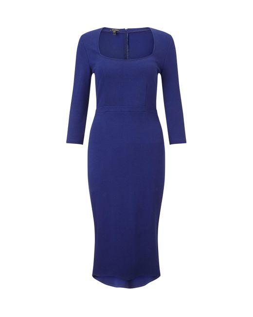 Baukjen - Blue Lexden Kick Dress - Lyst