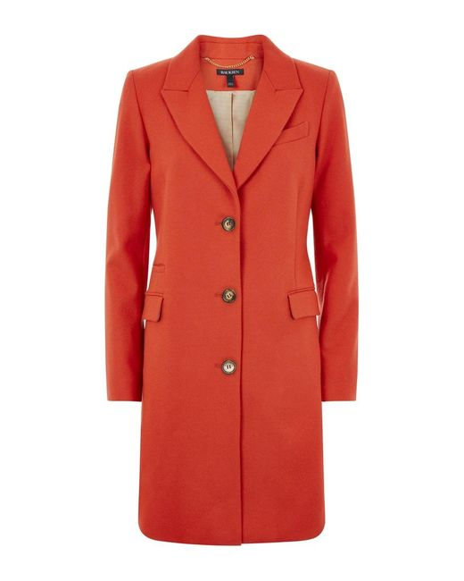 Baukjen | Red Henshaw City Coat | Lyst