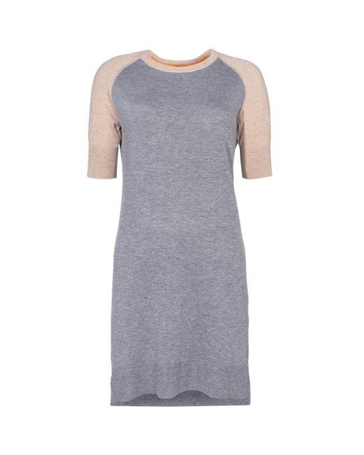 Baukjen - Gray Genoa Knit Dress - Lyst