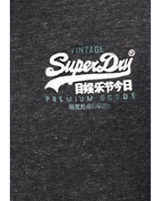 Superdry Kapuzensweatjacke VL DUO ZIPHOOD BR in Black für Herren