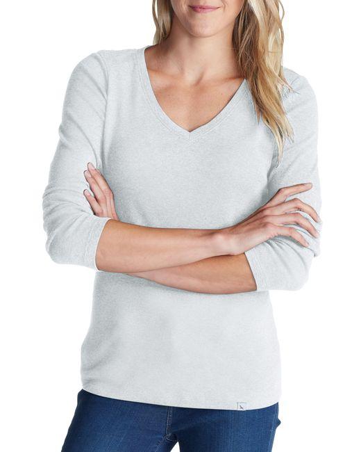 Eddie Bauer White T-Shirt