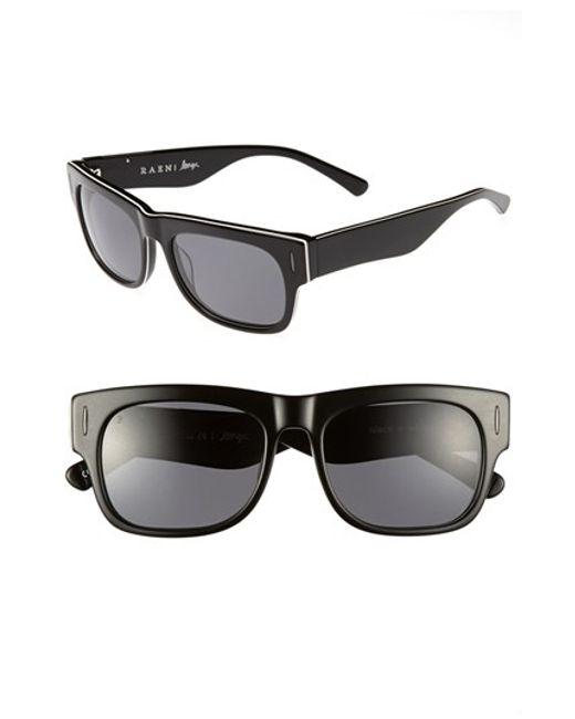 Raen | Black 'lenox' 54mm Polarized Sunglasses for Men | Lyst