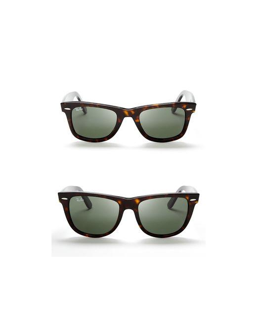 Ray-Ban | Brown Classic Wayfarer Sunglasses | Lyst