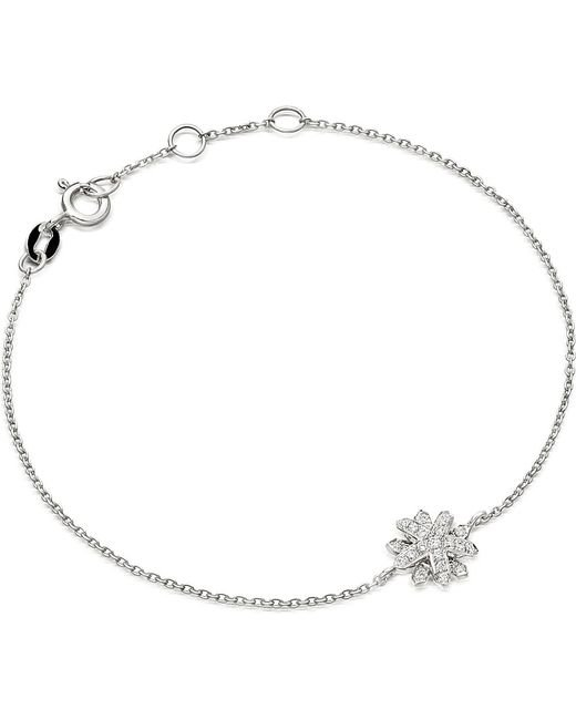 Astley Clarke | Metallic Starburst 18-carat White Gold And Diamond Bracelet | Lyst