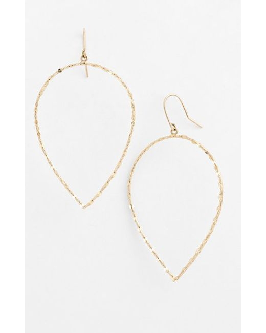 Lana Jewelry | Yellow 'glam' Small Pear Drop Earrings | Lyst