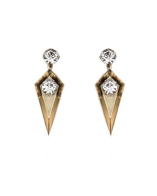 Nicole Romano | Metallic Gabi Earrings | Lyst