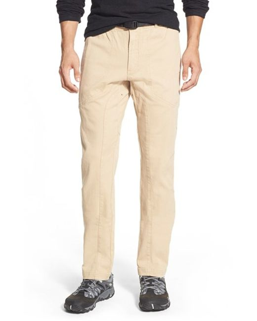 Gramicci | Natural 'freedom G' Stretch Twill Pants for Men | Lyst
