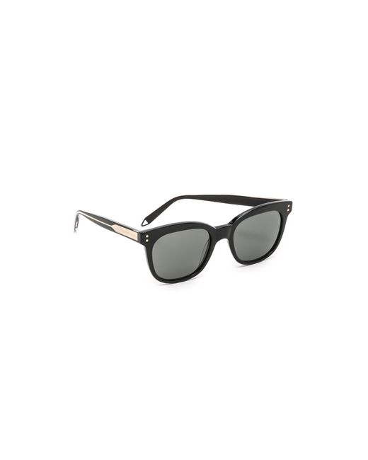 Victoria Beckham | Black The Vb Sunglasses | Lyst