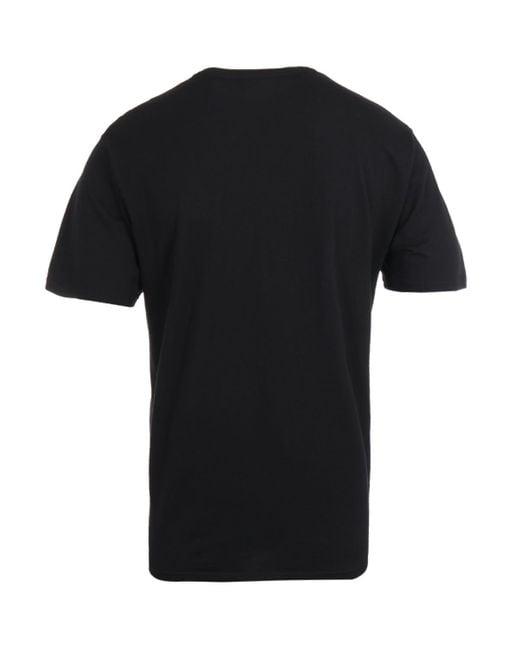 Edwin Black Logo Chest T-shirt for men