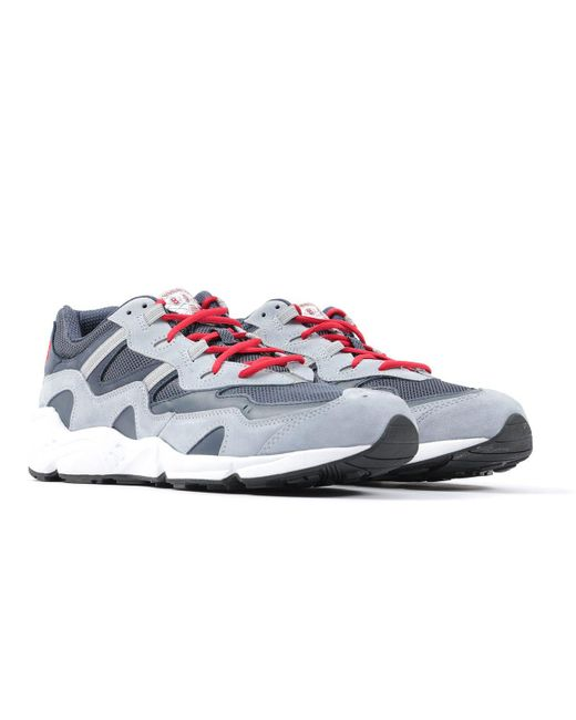New Balance Gray X No Vacancy Inn 850 Suede Trainers - Navy, Grey & Red for men