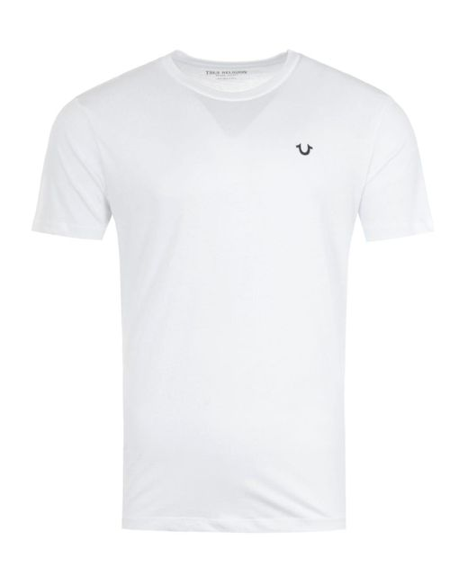 True Religion 2002 Crew Neck T-shirt - White for men