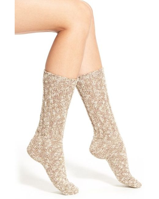 Pink Pony | Brown Marled Boot Socks | Lyst
