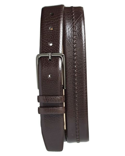 Mezlan | Brown 'perseo' Leather Belt for Men | Lyst