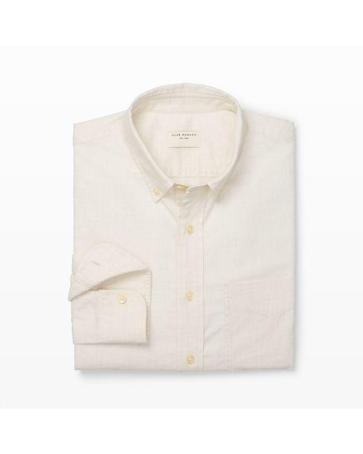 Club Monaco | White Slim-fit Flannel Shirt for Men | Lyst