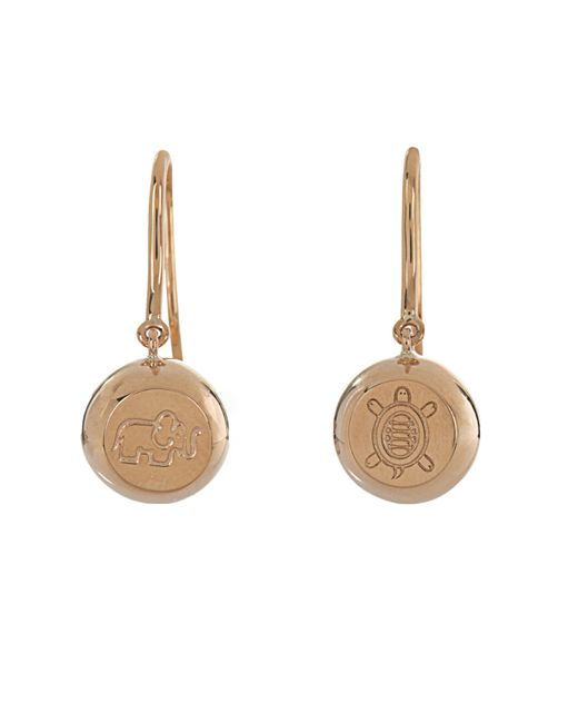 Aurelie Bidermann | Bells Yellow-gold Earrings | Lyst