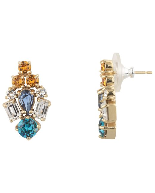 Cabinet | Blue Swarovski Crystal Paradisia Drop Earrings | Lyst