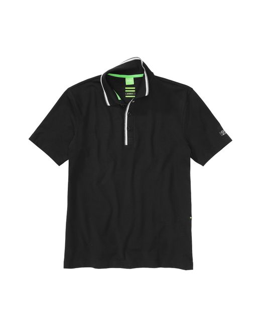 BOSS Green   Black Regular-fit Golf Polo Shirt In Stretch Cotton: 'pasey' for Men   Lyst