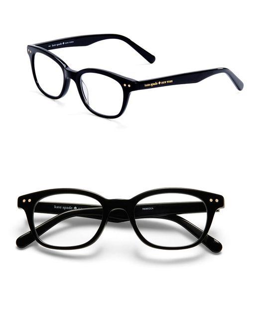 Kate Spade | Black 49mm Rebecca Reading Glasses | Lyst