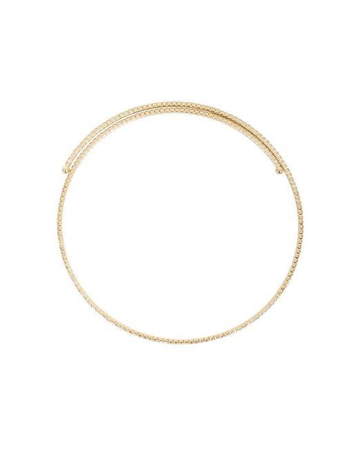 BCBGMAXAZRIA | Metallic Pave Choker Necklace | Lyst