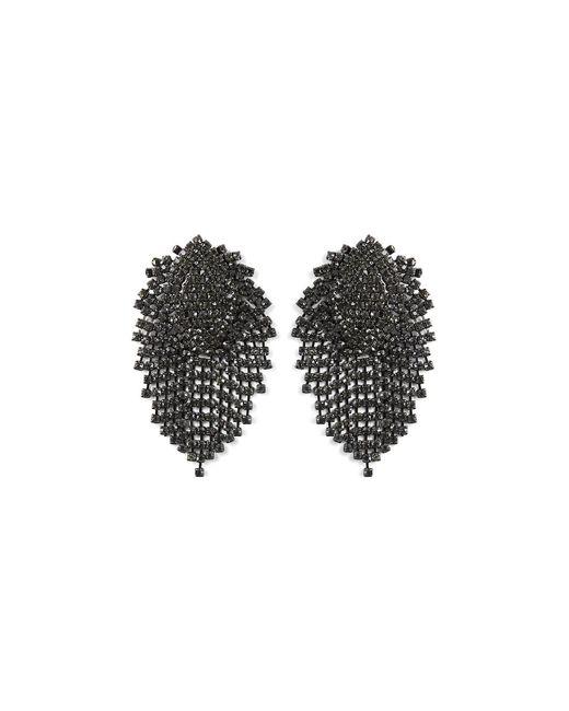 BCBGMAXAZRIA | Black Stone Earrings | Lyst