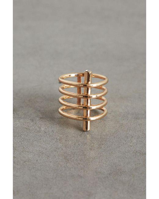 BCBGeneration Metallic Multi Bar Ring