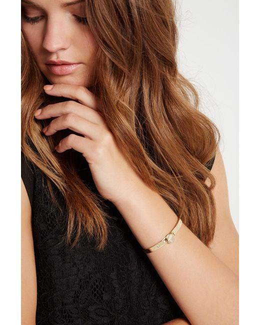 BCBGeneration | Metallic Say My Name Bracelet | Lyst