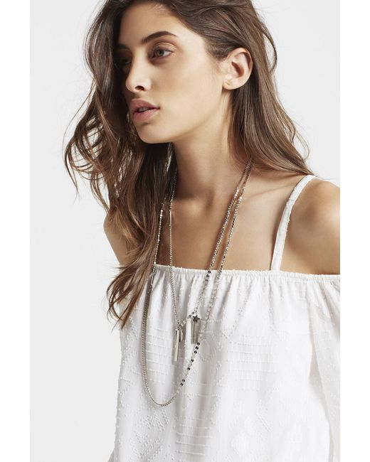 BCBGeneration | Metallic Charming Layers Necklace | Lyst