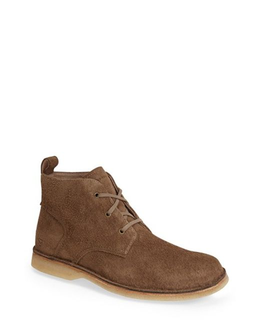 Andrew Marc | Brown 'dorchester' Suede Chukka Boot for Men | Lyst
