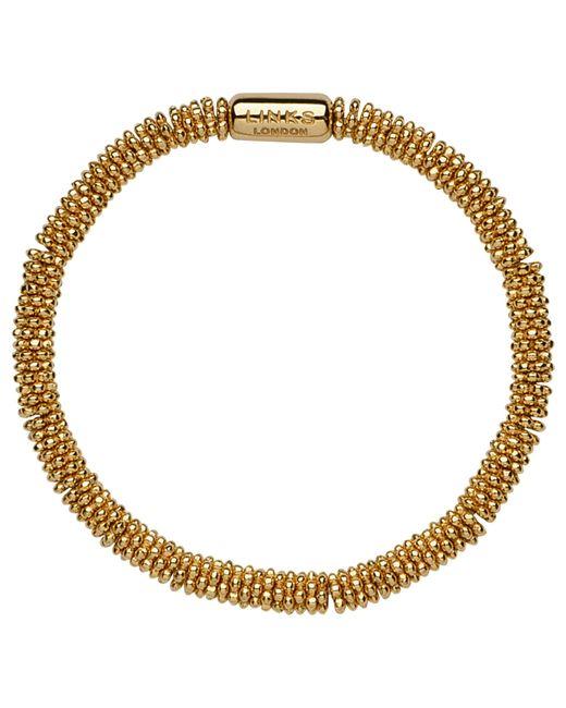Links of London   Metallic Effervescence 18ct Gold Vermeil Xs Star Bracelet   Lyst