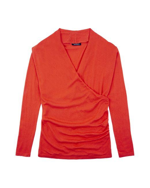 Baukjen | Red Callington Wrap Sweater | Lyst