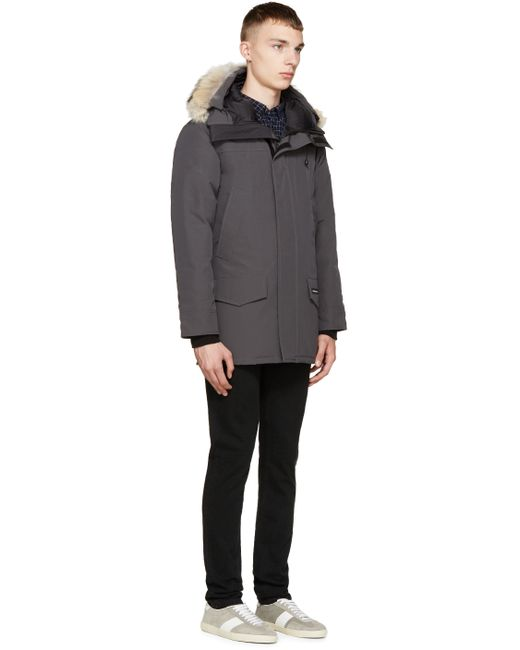 Canada Goose chateau parka online fake - Canada goose Grey Down & Fur Langford Parka in Gray for Men (grey ...