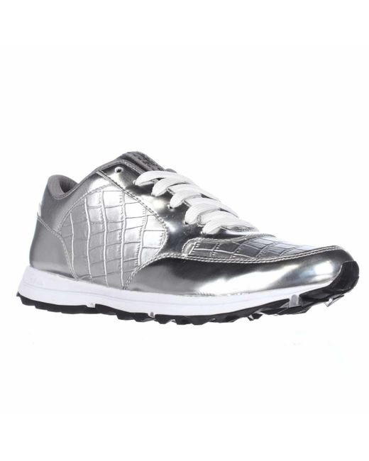sam edelman des athletic sneakers in silver lyst