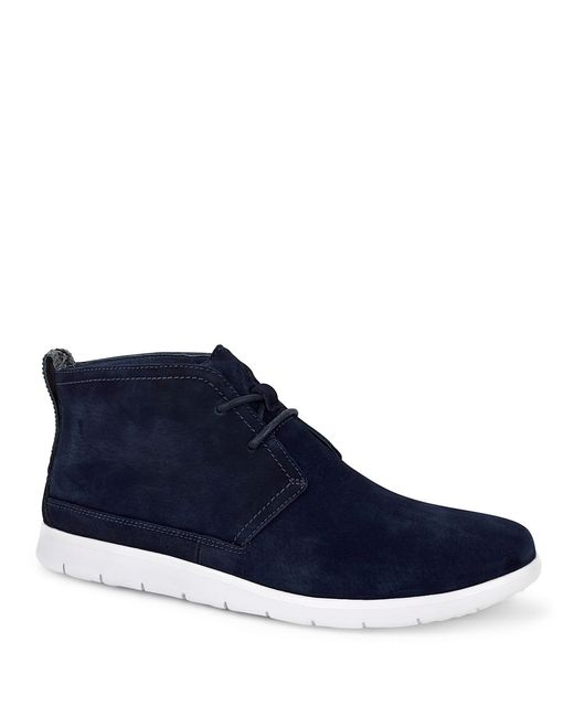UGG | Blue Freamon Suede Chukka Boots for Men | Lyst