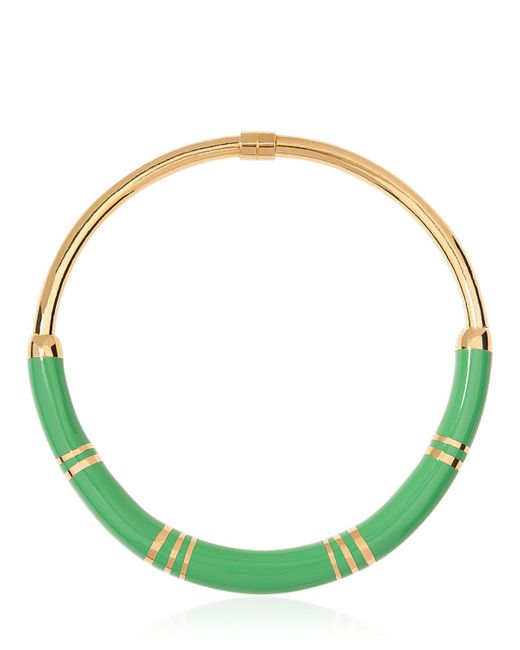 Aurelie Bidermann | Green Positano Resin And Gold-Plated Necklace | Lyst