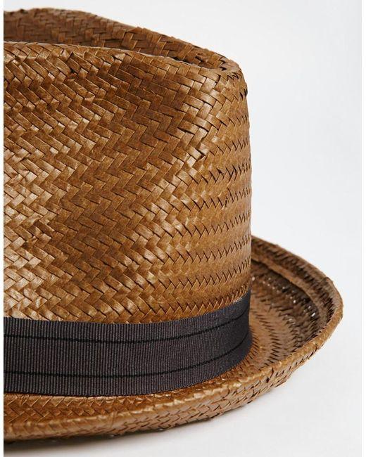 Braided Cloth Fedora For Men
