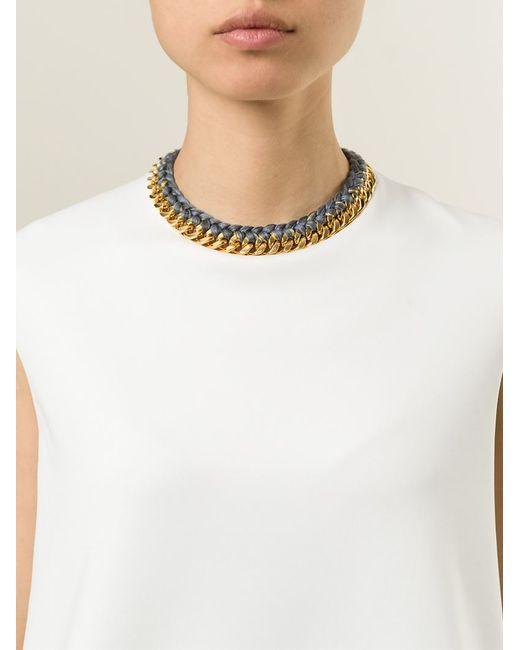 Aurelie Bidermann | Metallic 'do Brasil' Necklace | Lyst