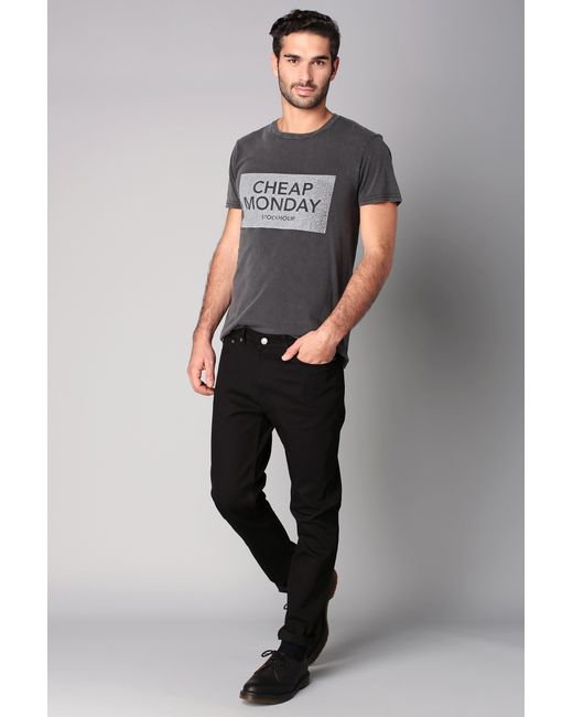 Cheap Monday | Mid Spray Jeans In Black for Men | Lyst