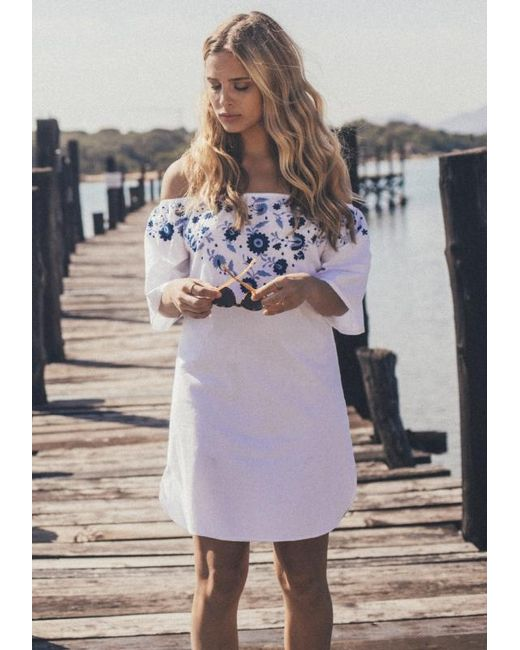 Pampelone - Multicolor Jasmine Mini Dress - Lyst