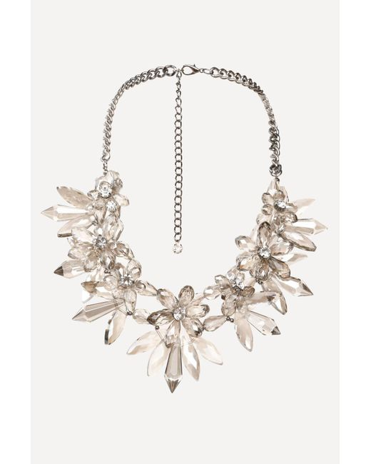 Bebe   Multicolor Chandelier Necklace   Lyst