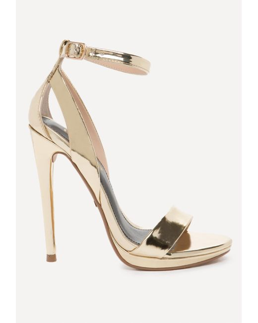 Bebe | Multicolor Selina High Shine Sandals | Lyst