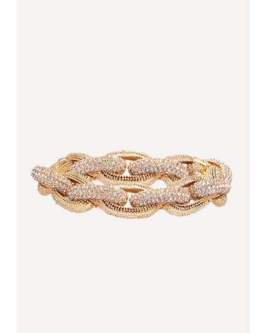 Bebe - Multicolor Crystal Link Bracelet - Lyst