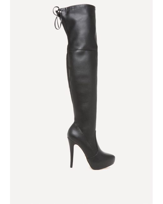 Bebe | Multicolor Gia Over The Knee Boots | Lyst
