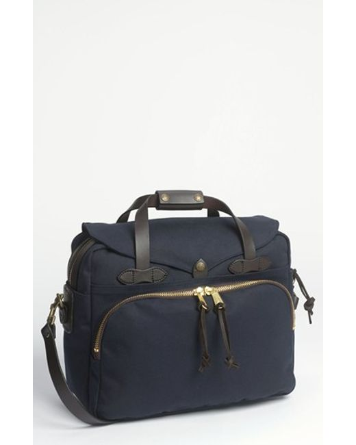 Filson | Blue Padded Laptop Bag for Men | Lyst
