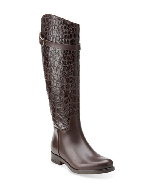 Clarks | Brown Clarks 'hopedale Wish' Tall Boot | Lyst