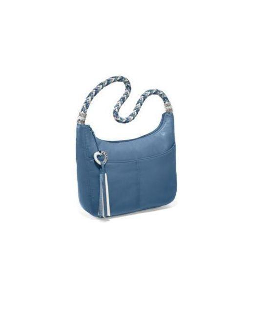 727a96e6fd3b Lyst - Brighton Barbados Zip Top Hobo in Blue
